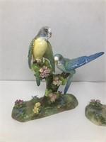 2 Staffordshire by JT Jones Bird Figurines