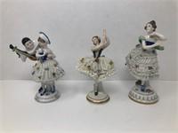 3 German Figurines