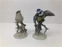 2 Rosenthal Bird Figurines