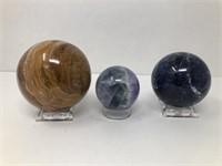 3 Polished Stones