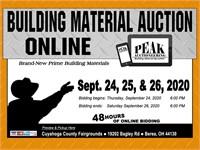 Berea September 2020 Peak Building Material Auction