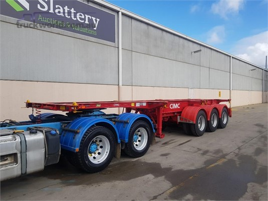 2019 Cimc 40FT Retractable Skel Trailer - Trailers for Sale
