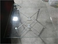 Glass-Top Table