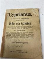 Antique Swedish Literature Books