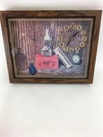 Vintage Van Etten Art Wall Clock