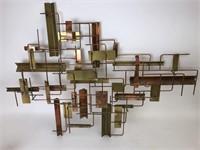Mid-Century Modern Signed John Bergasse Copper