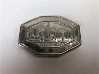 Vintage Chicago World's Fair Make Up Compact