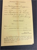 Vintage Detroit Burbank Public School Report Card