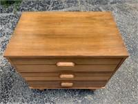 Vintage Wooden Dresser Set