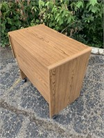 Pressed Wood Rolling Cart
