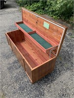 Vintage Lane Cedar Chest MCM