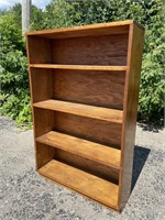 Handcrafted Solid Wood Bookshelf
