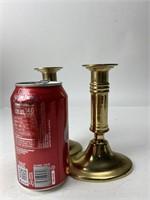 Vintage Solid Brass Candlesticks