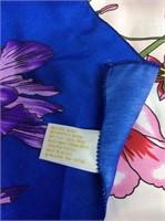 Berkshire Floral Silk Scarf