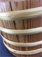 Kurt Eric Blücker Handmade Wooden Bucket
