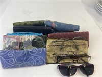Glasses Cases and Glasses Lot