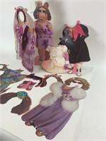 Vintage Miss Piggy Paper Doll Colorforms
