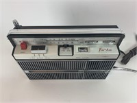 Vintage Crowncorder Radio Tape Recorder CRC-2500f