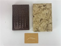 Vitron Alligator Skin Portfolio/Notepad