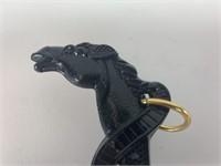 Vintage Plastic Horse Brush