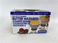 Ceramic Butter Warmer/Chauffe Dish