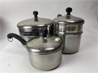 Vintage Farberware Cooking Pots