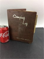 Vintage Handwritten Vacation Camping Log