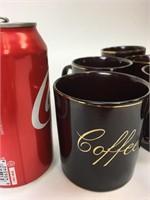 Vintage Ceramic Coffee Mug Lot