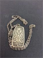 Vintage Jorgen Jensen Danish Necklace Pendent