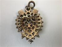 Vintage Trifari Heart Pendent