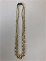 Antique Slide Clasp Necklace