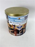 Boy Scouts Commemorative Tin