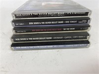 Bob Seger CD Lot