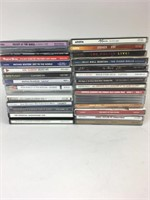Large Mix of Classic/90s CDs