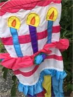 Vintage Happy Birthday Wind Sock