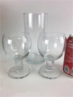 Glasses and Vases Lot