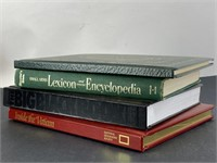 Lot of 4 Coffee Table Hard Cover Books