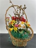 Artificial Bouquet w/ Basket