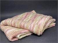 Vintage Hand Knit Shaw/Blanket