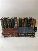 Large Lot Of Franklin Library Hardcover Books.