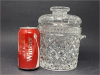 Vintage Cut Glass Canister