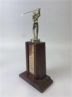 Vintage Golf Trophy.