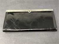 Vintage Faux Leather Women's Clutch