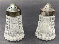 Vintage Waterford Crystal Salt & Pepper Shakers