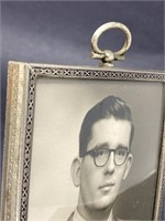 Small Metal Vintage Picture Frame