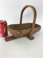 Vintage Telescopic Wooden Basket