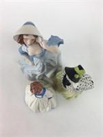 Vintage Porcelain Harlot Figurine Lot
