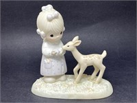 """Precious Moments """"to My Deer Friend"""" Porcelain"""