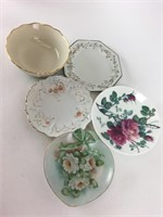 Mixed Lennox & Other Porcelain Plate/Bowl Lot