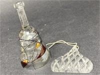 Glass Ornament/Bell Lot